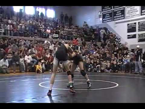 "David Taylor vs. Colin Palmer - 2009 High School ""Match of the Century"""