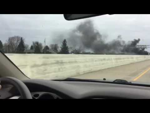 The baddest car accident ever in Appleton Wisconsin road 41