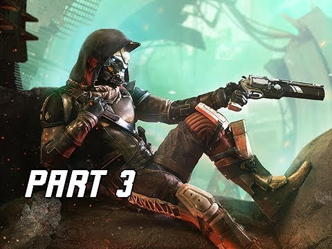 DESTINY 2 Walkthrough Part 3 - RESCUE CAYDE-6 (PS4 Let's Play Commentary)