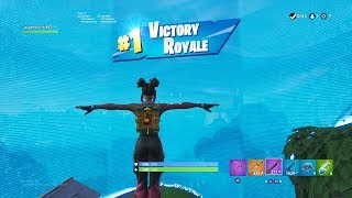 "FORTNITE First Win with ""LUXE"" SKIN (TIER 100 ""24K"" OUTFIT) 