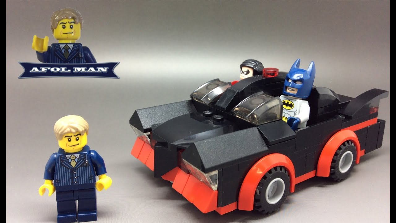 sdcc lego batman classic tv series batmobile my version. Black Bedroom Furniture Sets. Home Design Ideas