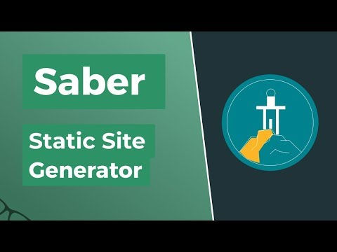 Saber - Vue.js Static Site Generator thumbnail