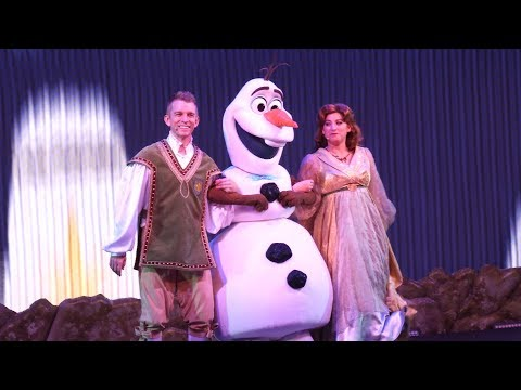 4K That Time Of Year Part Olaf's Frozen Adventure Frozen Sing-Along Disney's Hollywood Studios