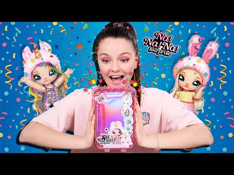 Кукла-сюрприз в хлопушке с конфетти! Na Na Na Surprise, обзор и распаковка