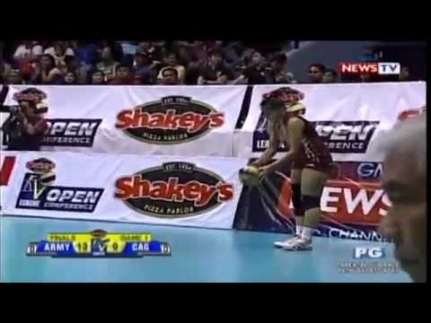 Cagayan Valley vs Philippine Army - August 29,2014 [ Set 1 ...