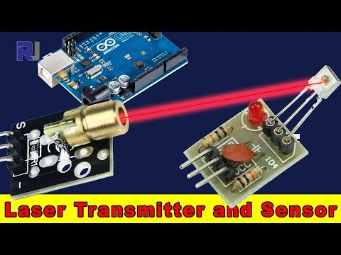 How To Use Laser Transmitter And Laser Sensor For Arduino