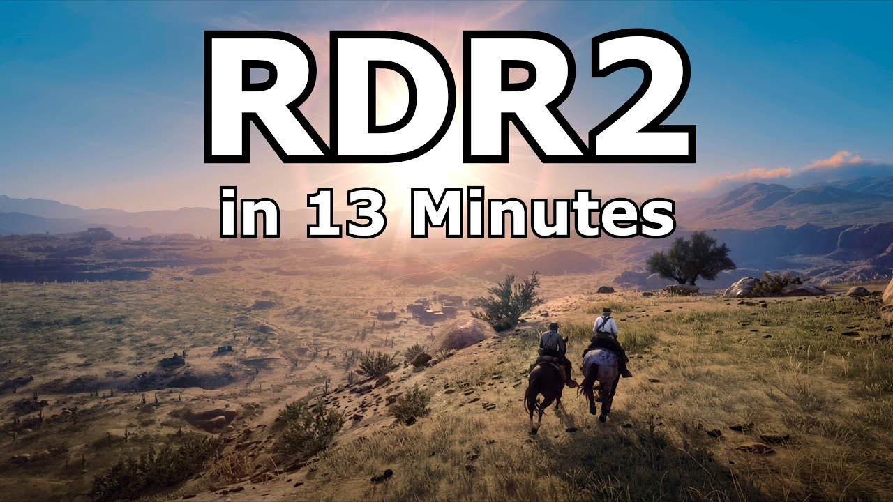 Red Dead Redemption 2 in 13 Minutes thumbnail