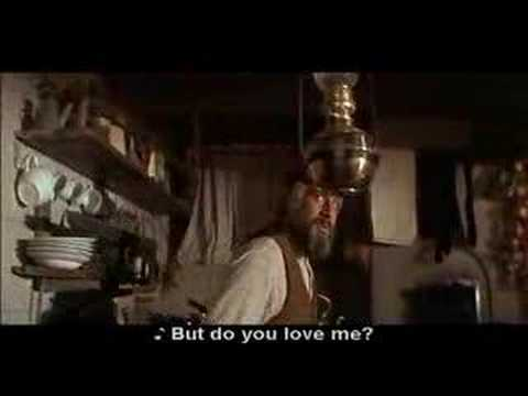 Fiddler on the roof - Do you love me ? (with subtitles)