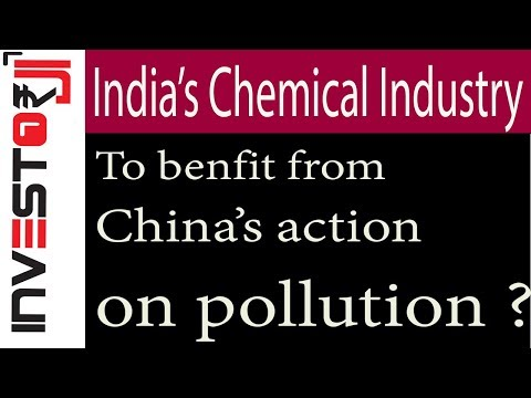 China's action on pollution opportunity for Indian Chemical Industry