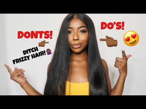 HOW TO: SLEEK & SHINY STRAIGHT HAIR | FT. BEAUTY FOREVER HAIR