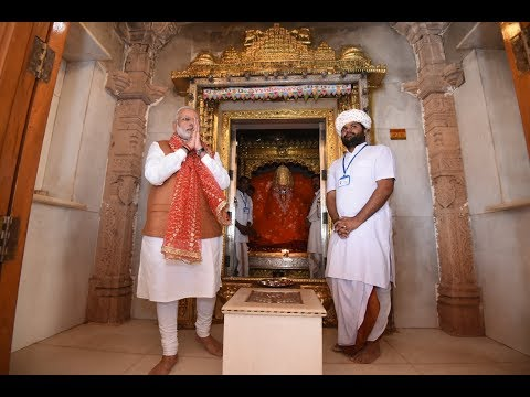 PM Modi visits Ashapura mata temple and interacts with public in Kutch