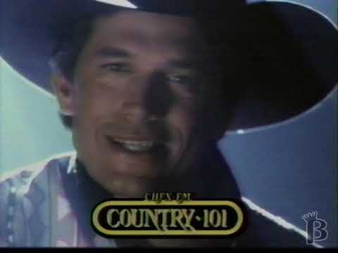 CHFX FM Country 101 Radio Halifax, NS Commercial 1994