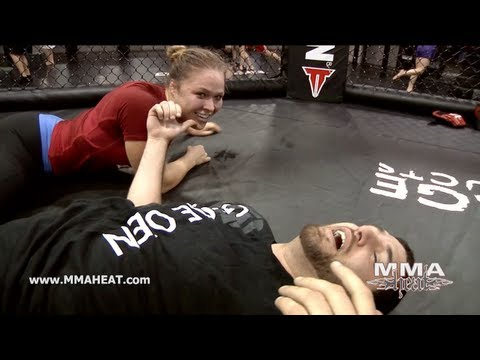 UFC's Nick Diaz + Strikeforce's Ronda Rousey Submit Layzie The Savage 6 Times