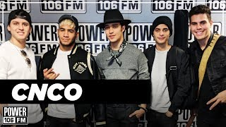 CNCO - Upcoming self-titled album, their lives before fame, and how they PARTY!