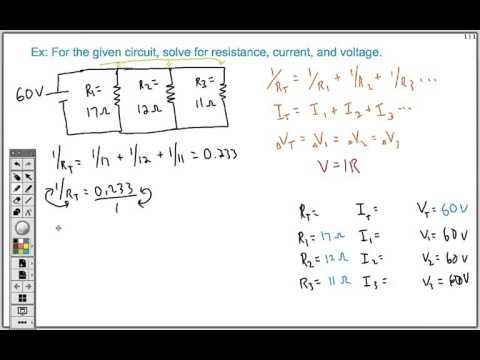 How To Solve Any Series And Parallel Circuit Problem Doovi
