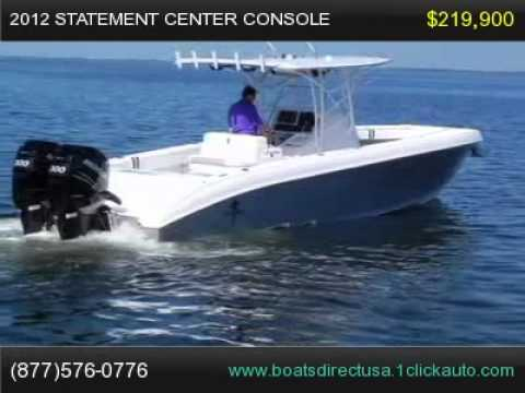 2012 Statement Center Console, Boat For Sale Florida