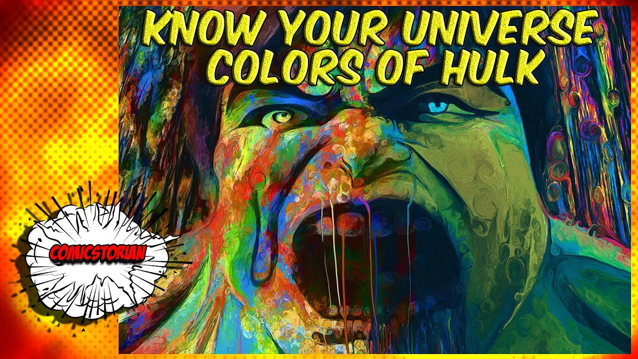The Colors of Hulk - Know Your Universe - YouTube