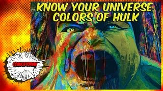 The Colors of Hulk - Know Your Universe | Comicstorian thumbnail