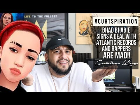Bhad Bhabie Signs A Deal With Atlantic Records and RAPPERS ARE MAD!! #Curtspiration