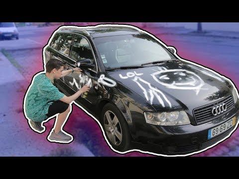 PINTEI O CARRO DO MEU AMIGO! (VINGANÇA)