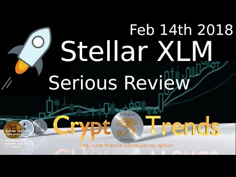 Stellar XLM - Serious review. Serious coin.