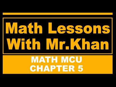 Math MCU  5.7 Metric Relations