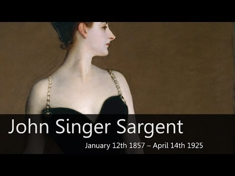 John Singer Sargent Biography from Goodbye-Art Academy