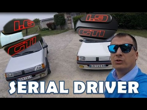 SERIAL DRIVER : essai youngtimer Peugeot 205 GTI 1.6 & 1.9