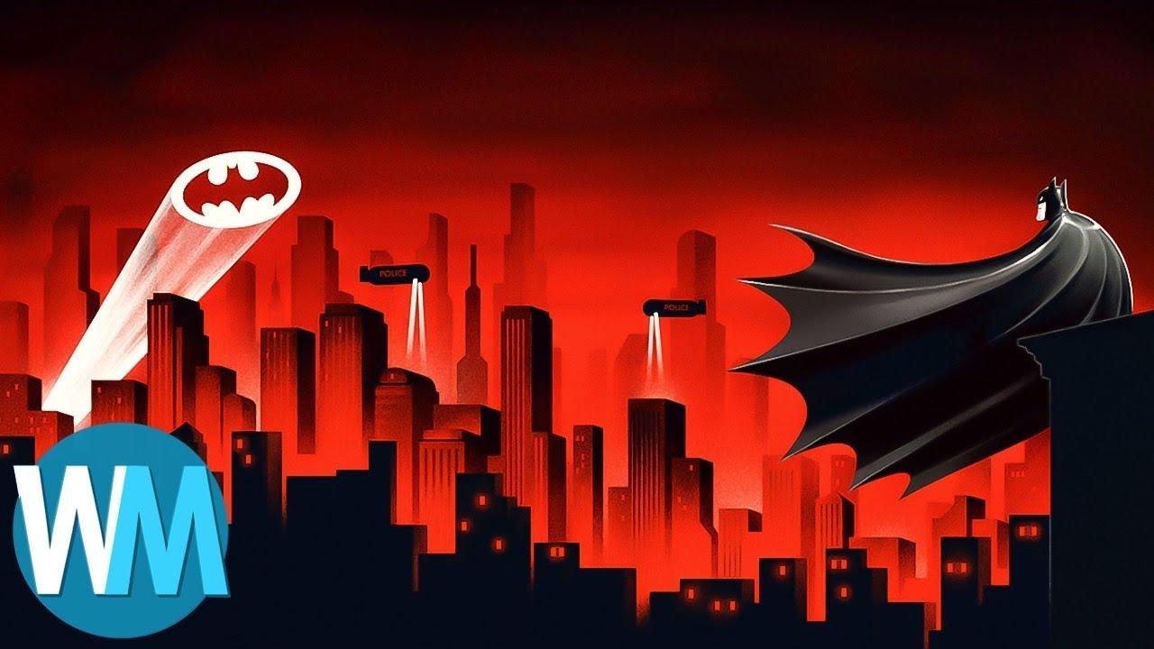 top 10 iconic superhero cities youtube