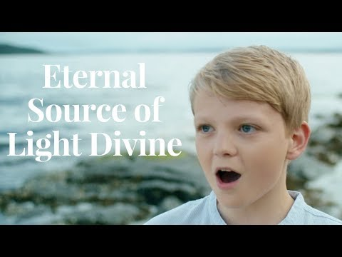 Eternal Source of Light Divine (Handel) | treble Aksel Rykkvin (13y) 4K