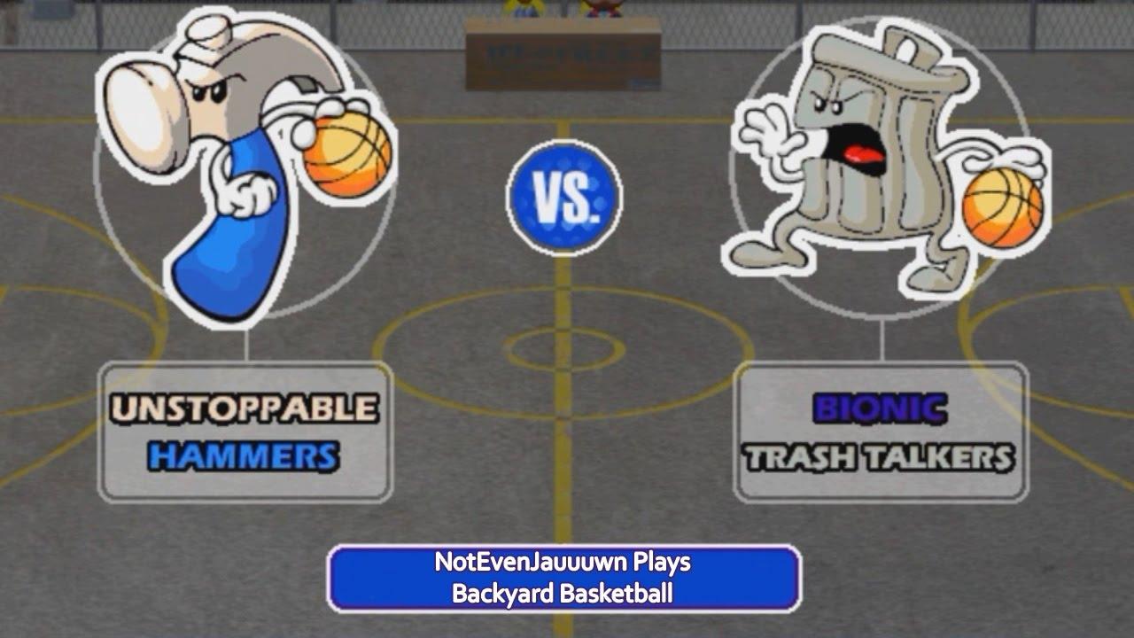 game 6 of backyard basketball unstoppable hammers vs bionic