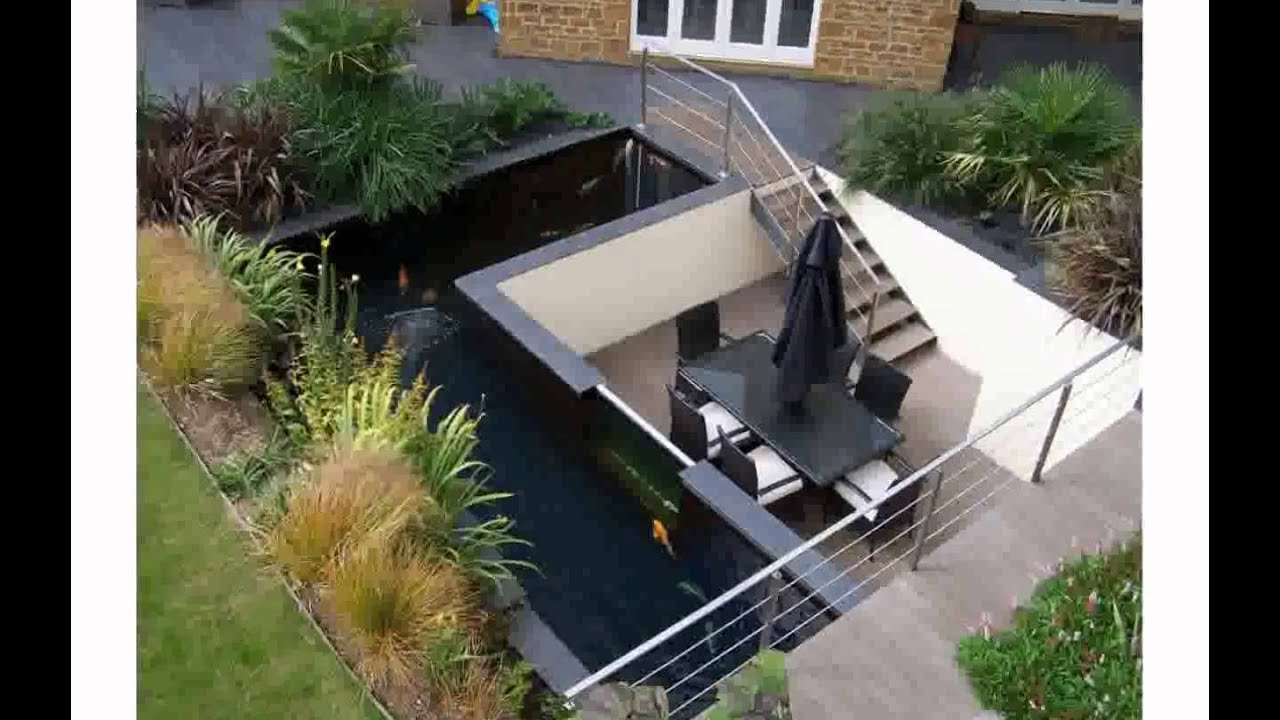 Koi pond design youtube for Koi pool design