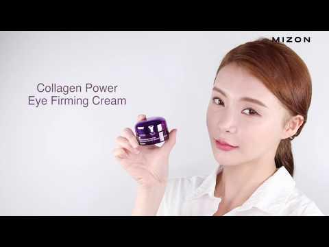 【韓國MIZON】膠原蛋白緊緻保濕眼霜10ml | 使用示範