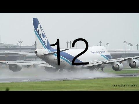 強風での離陸はこうなる世界で230万回以上再生!たった18秒でジャンボが離陸する瞬間 成田空港 SKY GATE TV
