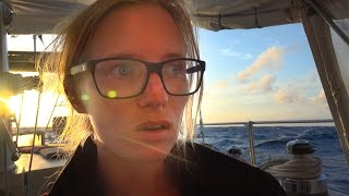 reflections sailing on the open ocean sailing sv delos ep 91