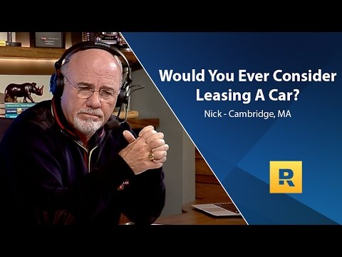 Would You Ever Consider Leasing A Car?