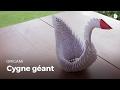 Faire un cygne géant | Origami
