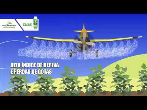 Aplicação com TA 35 - Redução de perdas por Deriva