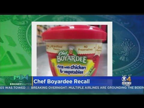 Valentine In The Morning - Food Recalls: Chef Boyardee And Pillsbury Flour