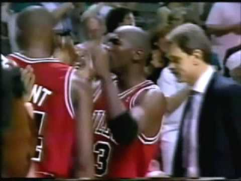 Chicago Bulls - Detroit Pistons | 1991 Playoffs | ECF Game 4: Bad Boys are History