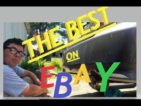 The BEST sounding E-Bay $20 Muffler Hands Down! Savion the Civic - 3W1B