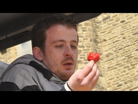Chilli Eating Contest Blackpool 2014