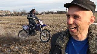 Купил себе КРОССОВЫЙ МОТОЦИКЛ, тюнинг Yamaha jog, качалка