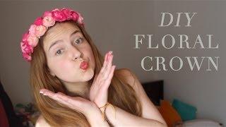 ¿Cómo hacer una corona de flores? DIY Floral Crown - Carolina Llano