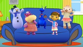 Five Little Doc McStuffins Jumping On The Bed ❤ 5 Little Monkeys Kids' Song