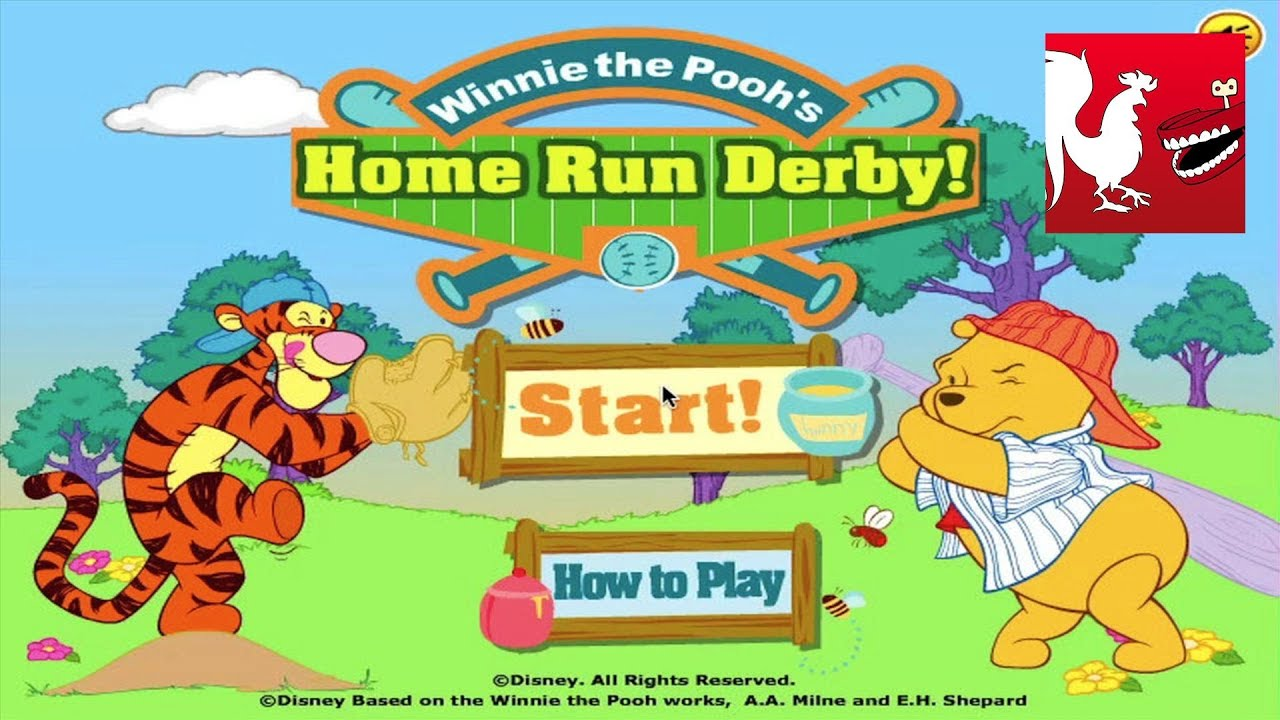 Winnie The Pooh's Home Run Derby - Y8 Games