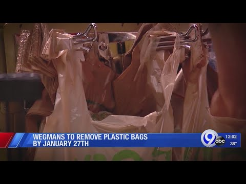 Rich Lauber - Wegmans Announces Date When The Company Will Discontinue Using Plastic Bags