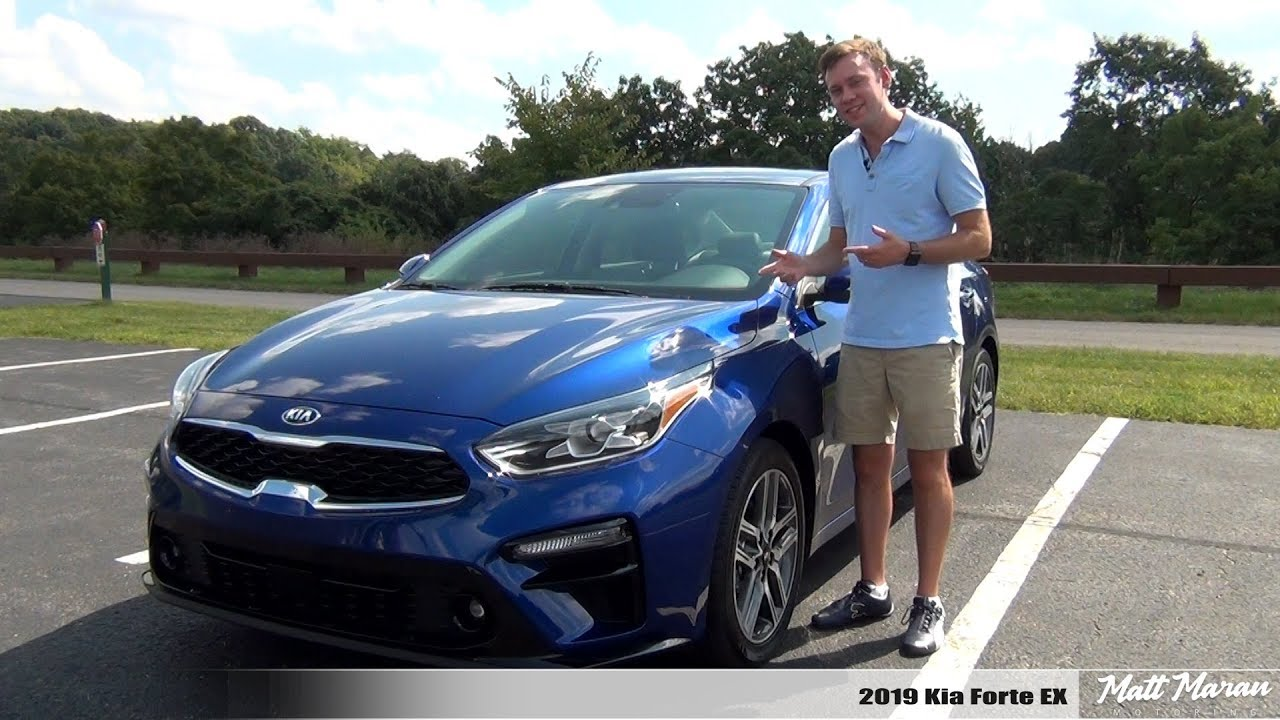 review 2019 kia forte ex the best one yet youtube. Black Bedroom Furniture Sets. Home Design Ideas