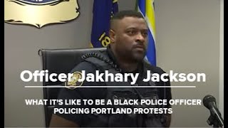 What it's like to be a Black officer policing Portland protests | Raw interview