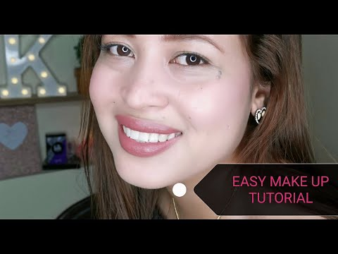 EASY MAKE UP TUTORIAL 💓| GO TO MAKE UP thumbnail
